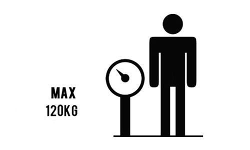 Навантаження до 120 кг